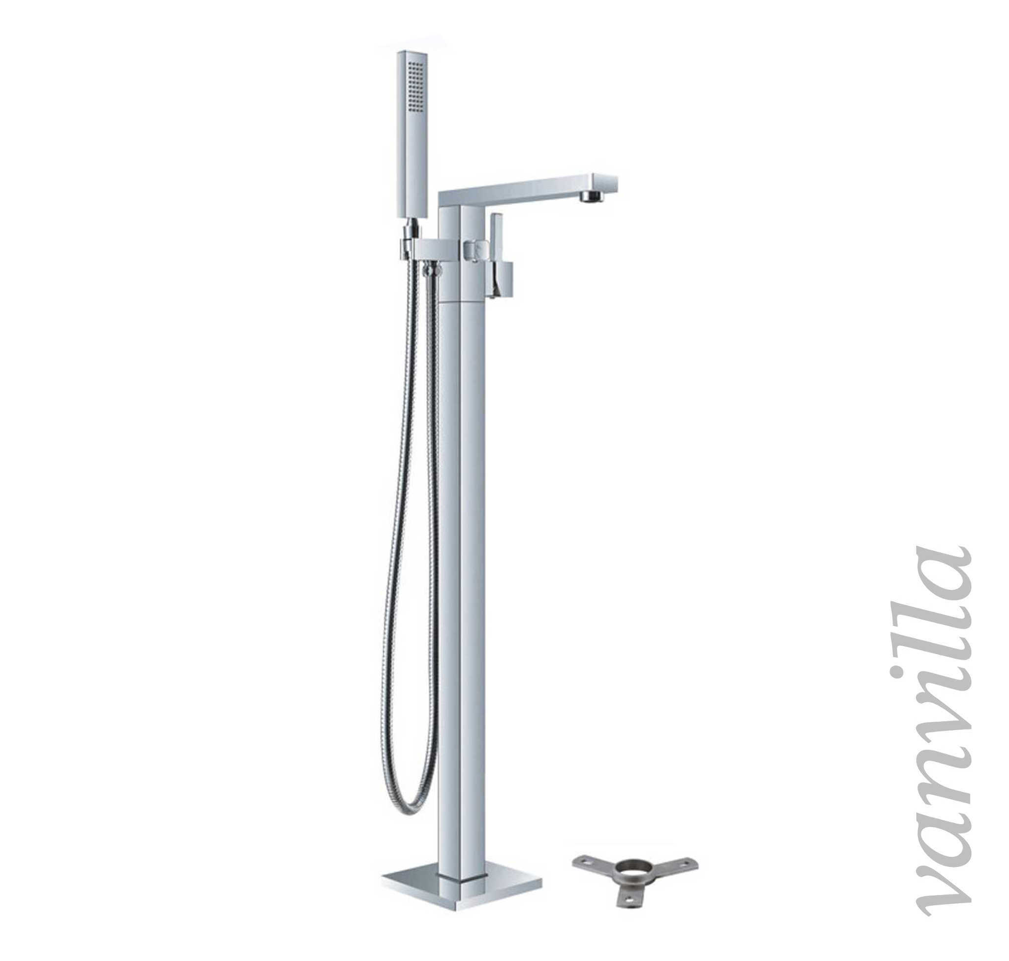 vanvilla freistehende standarmatur f r badewanne wannenarmatur stehend ebay. Black Bedroom Furniture Sets. Home Design Ideas