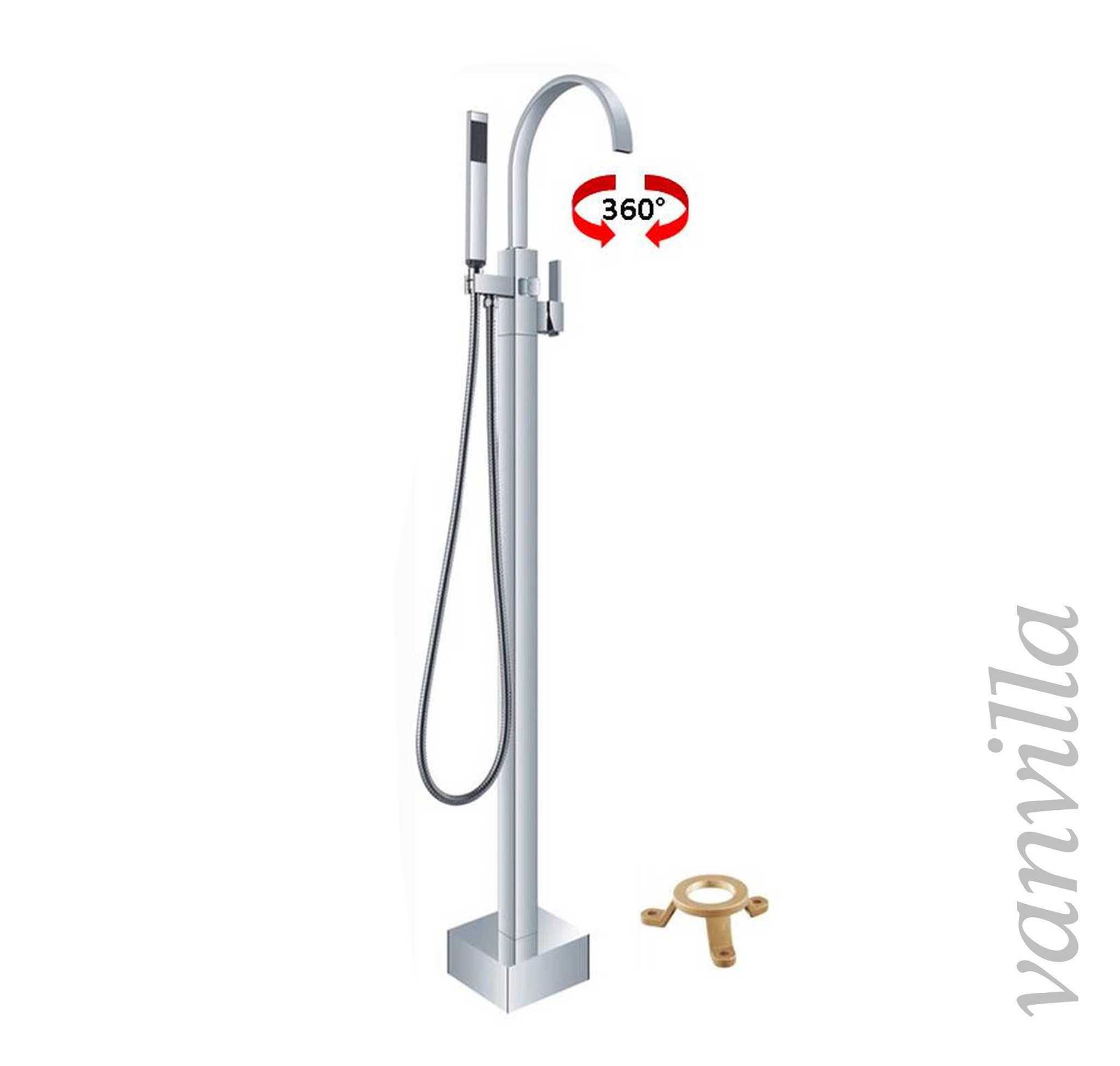 Vanvilla freistehende standarmatur f r badewanne for Wannenarmatur freistehend
