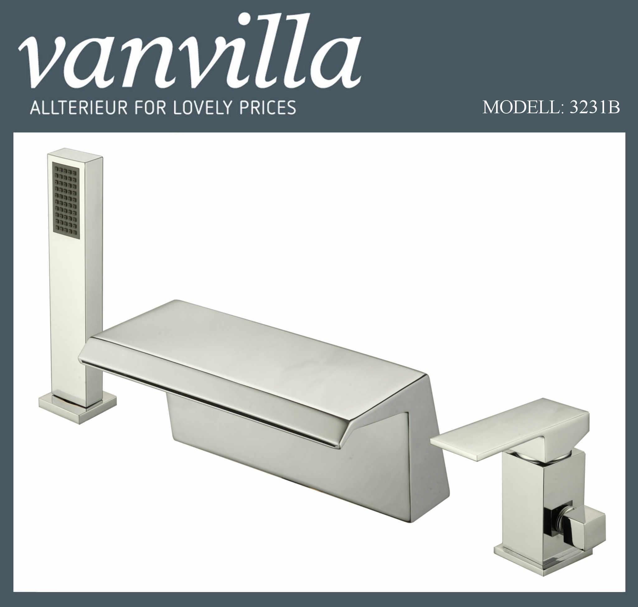 vanvilla wannenrandarmatur 3221b 3 loch. Black Bedroom Furniture Sets. Home Design Ideas
