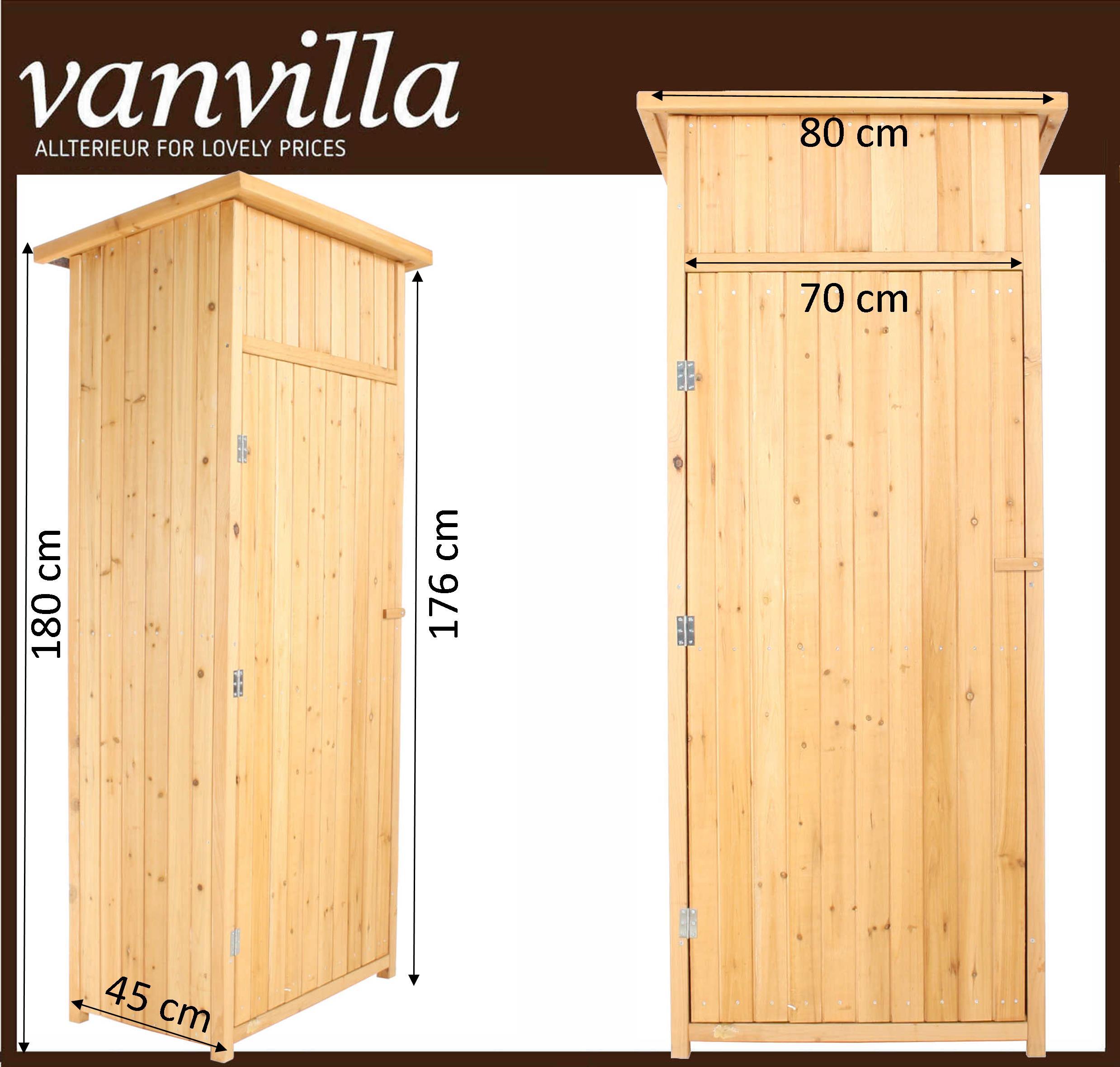 vanvilla ger teschuppen flachdach klein 1 paket naturfarben. Black Bedroom Furniture Sets. Home Design Ideas