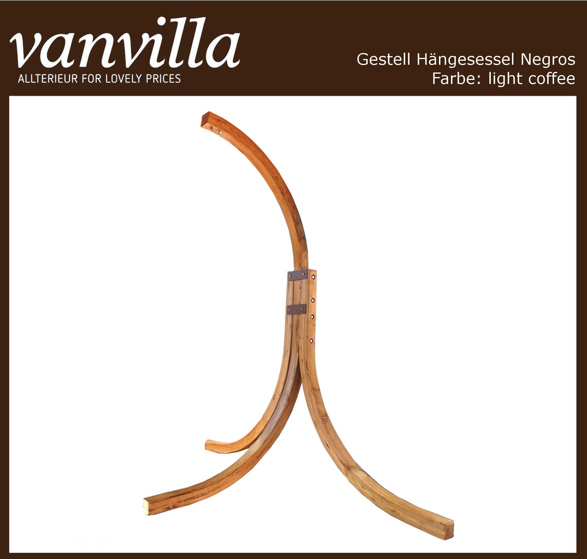 vanvilla Gestell für Hängesessel Modell NEGROS