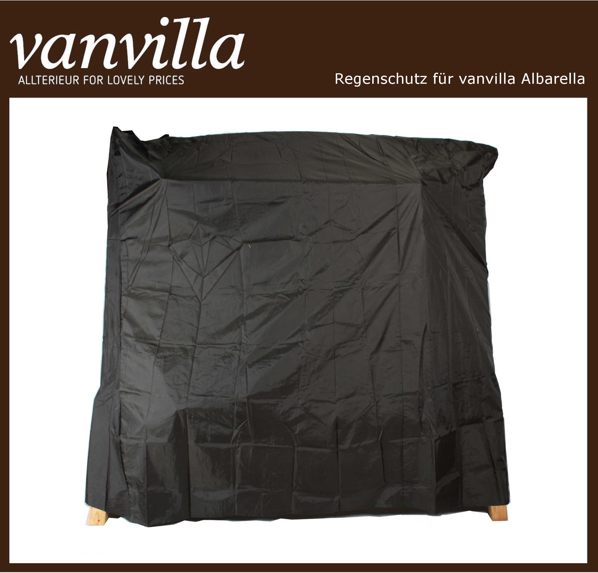 Regenschutz für vanvilla Hollywoodschaukel Albarella / Gomera