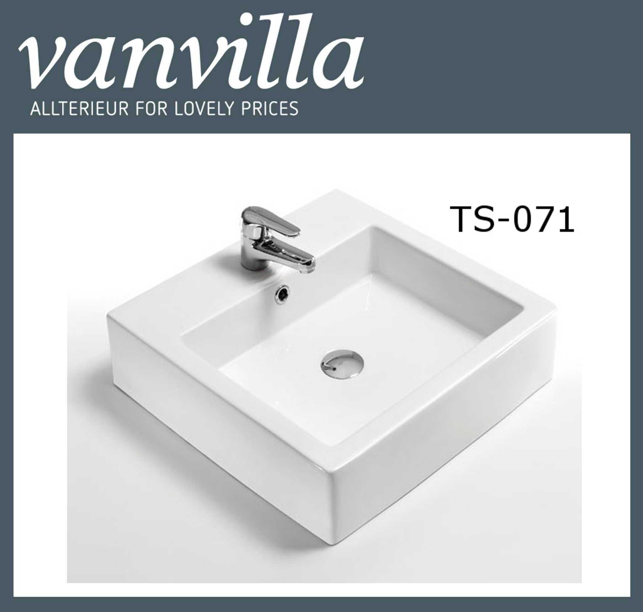 Design Aufsatzwaschbecken, Waschbecken, TS-071