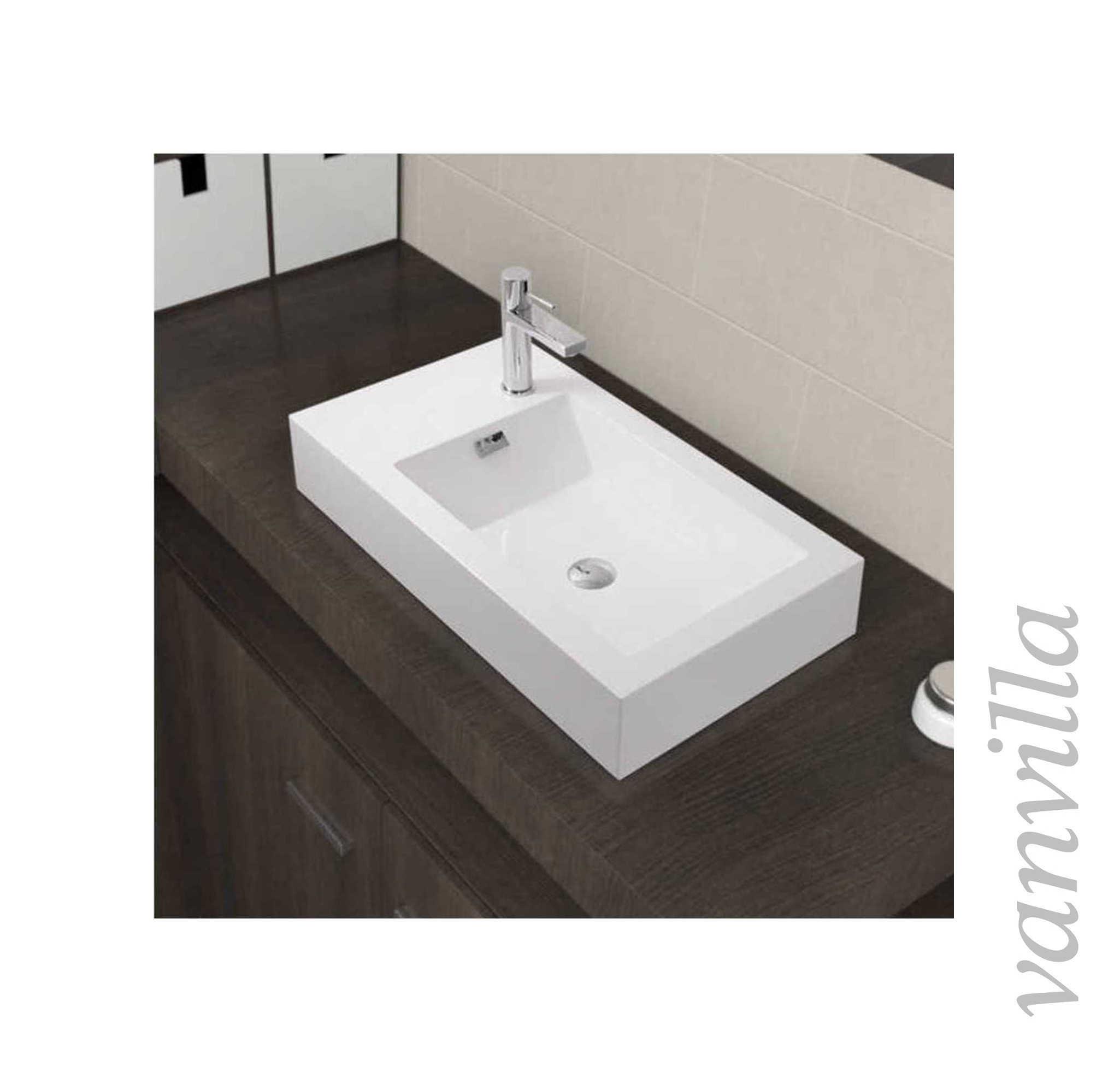 handwaschbecken waschtisch gussmarmor waschbecken aufsatz wandh ngend mineralgu ebay. Black Bedroom Furniture Sets. Home Design Ideas