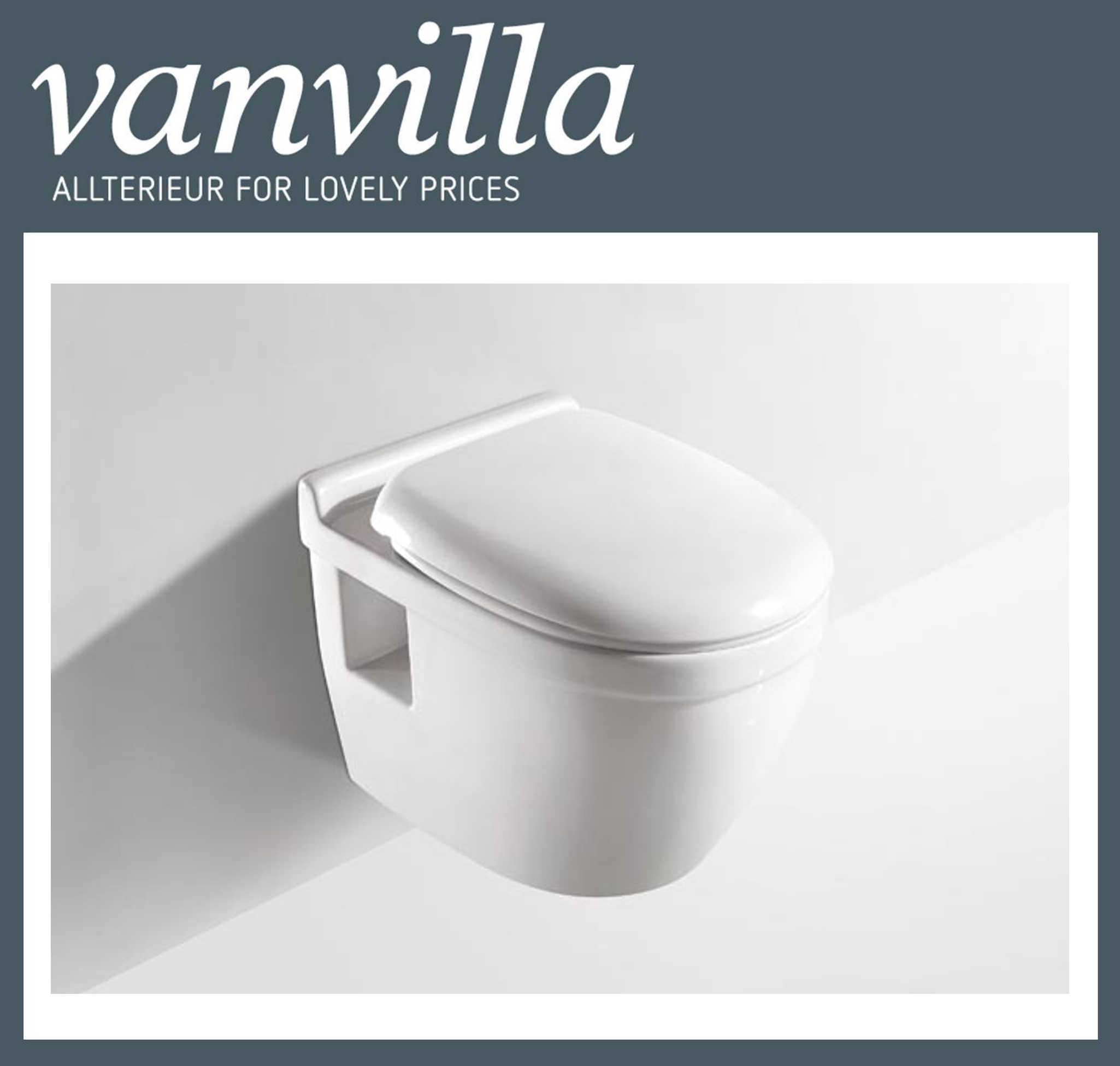 vanvilla Design Hänge WC 809 inkl. Soft close