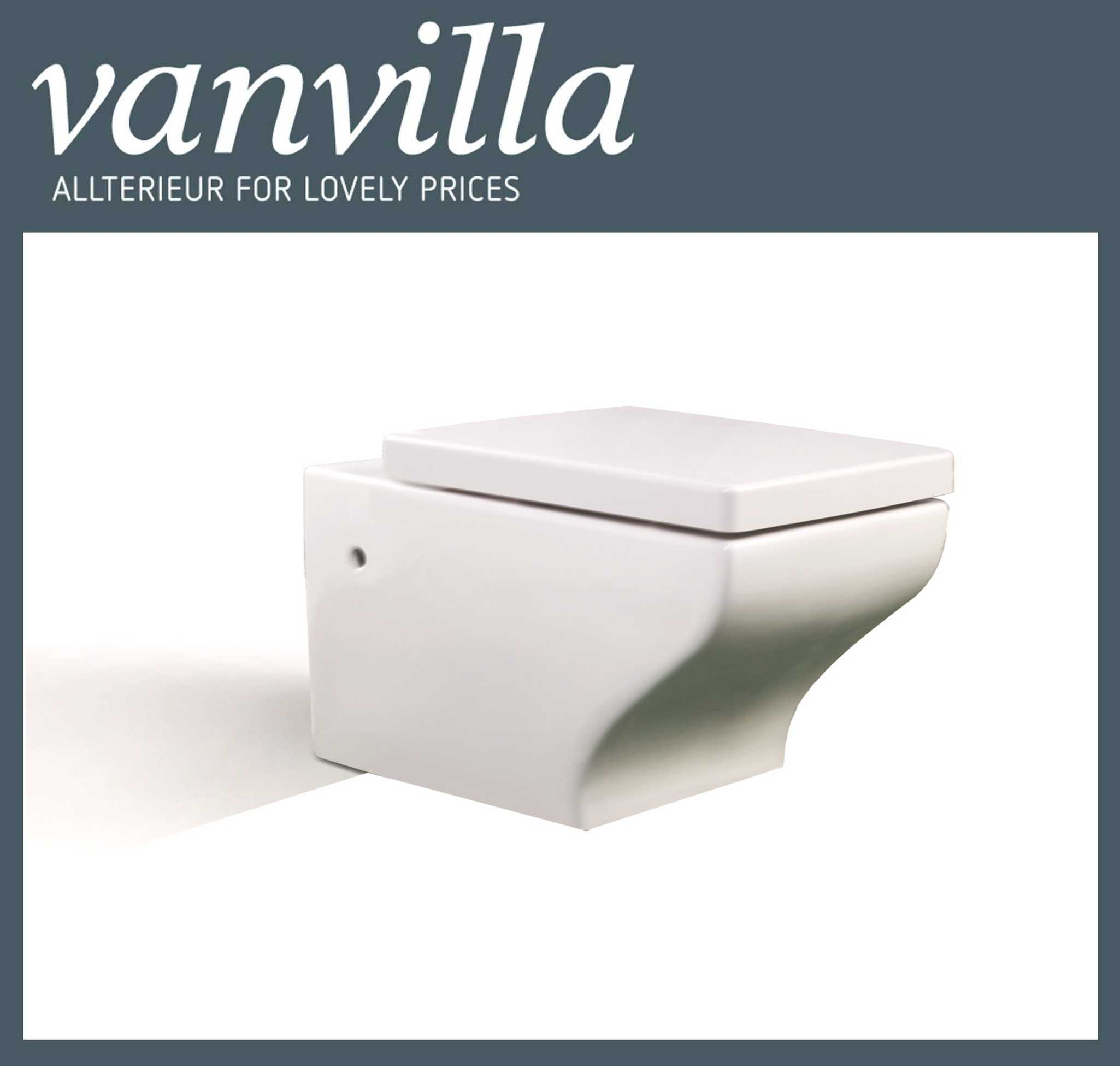 vanvilla Design Hänge WC 888 inkl. Soft close