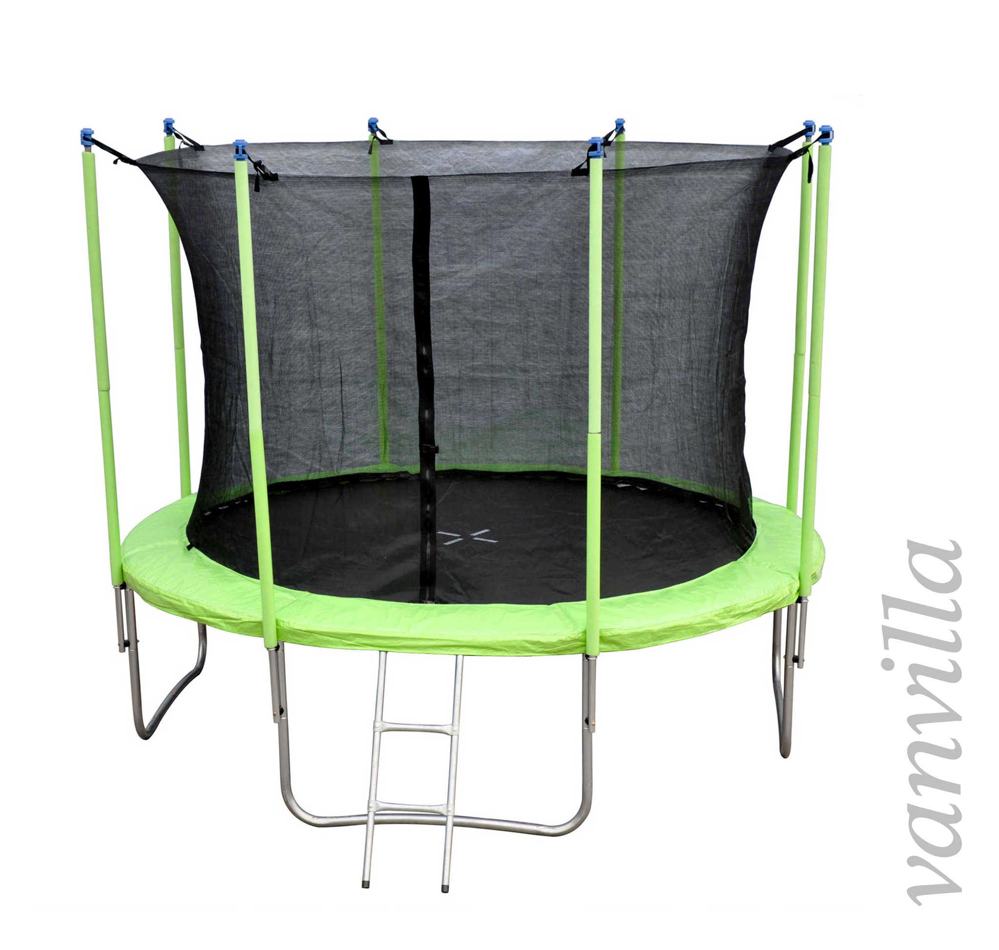 trampolin set gartentrampolin 2015 plane sicherheitsnetz leiter regenschutz ebay. Black Bedroom Furniture Sets. Home Design Ideas