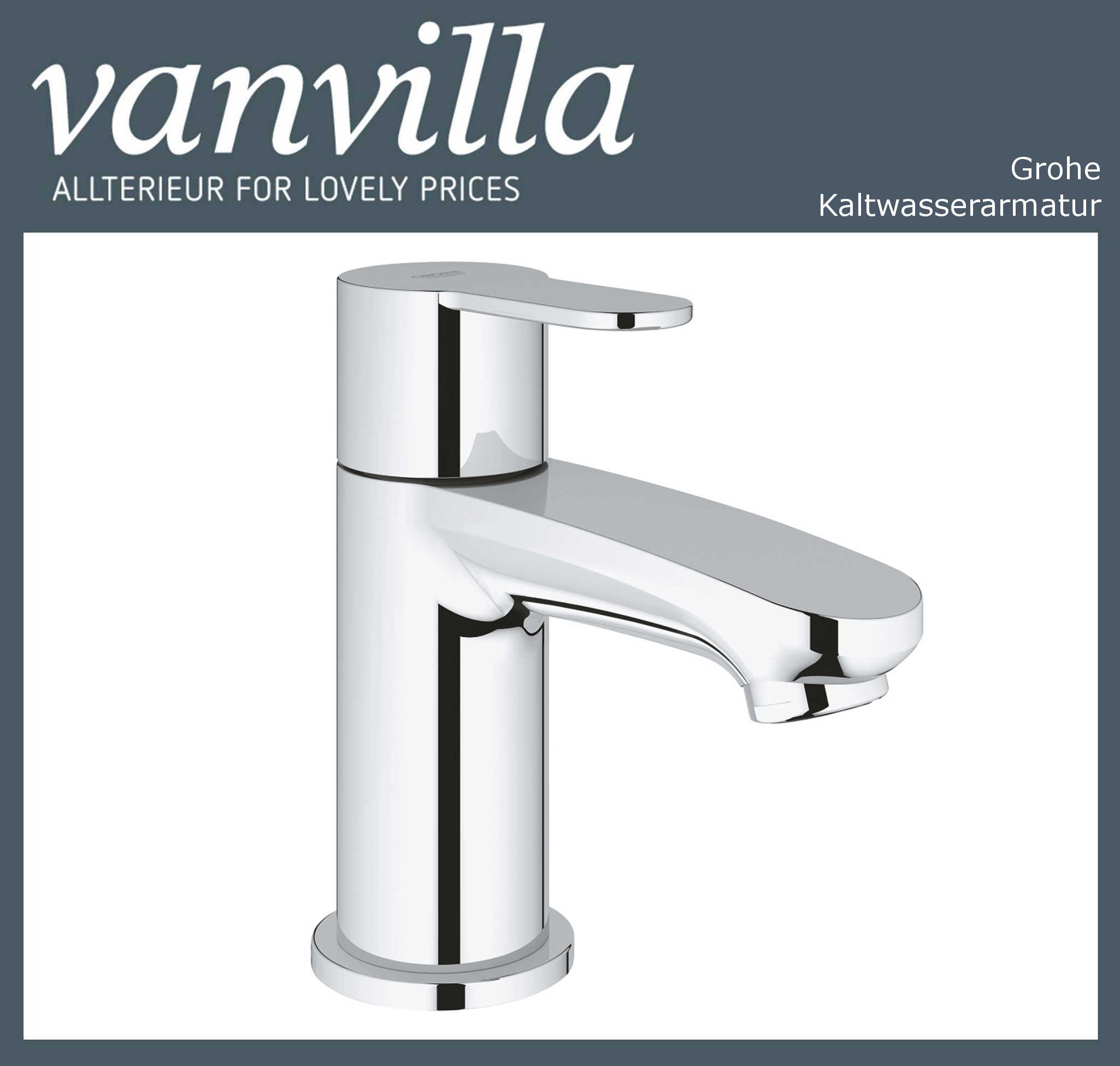 Grohe Einhand Waschtischarmatur Kaltwasser Badarmatur 23039002